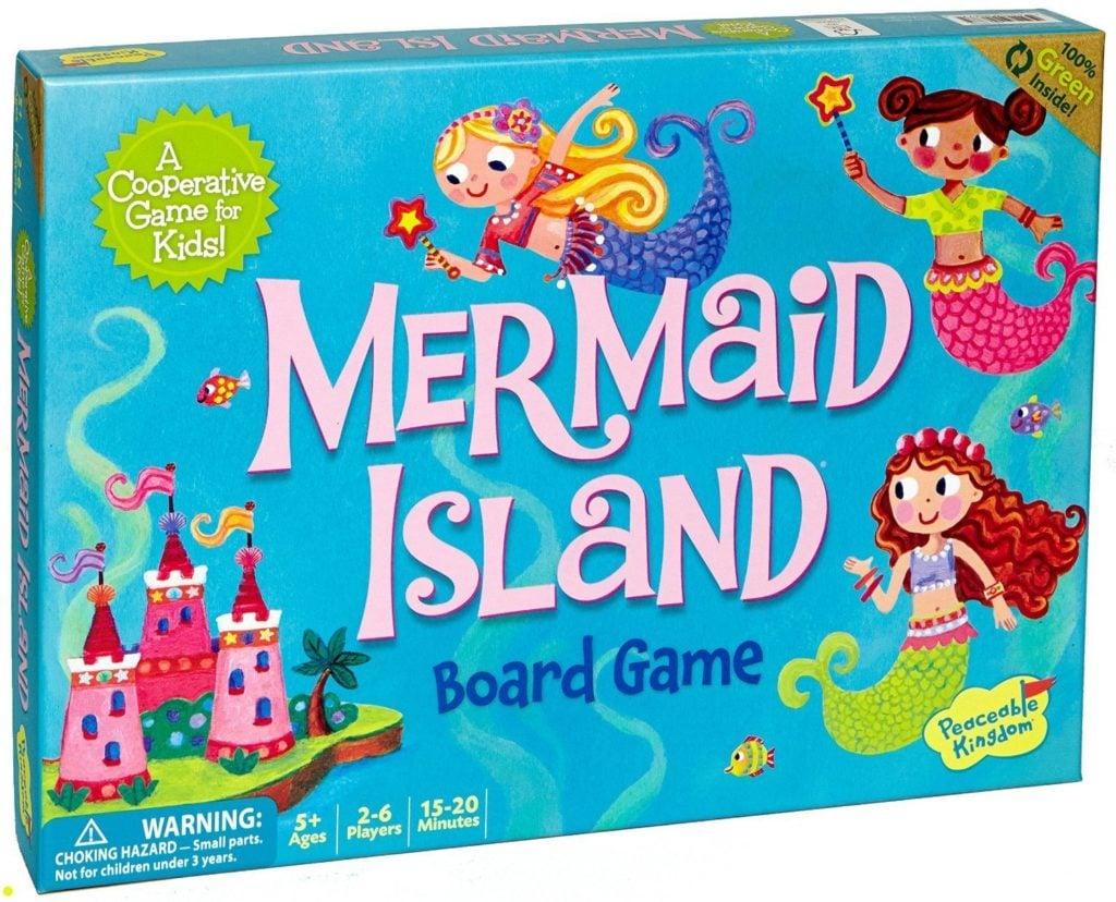 Peaceable Kingdom Mermaid Island - games for girls
