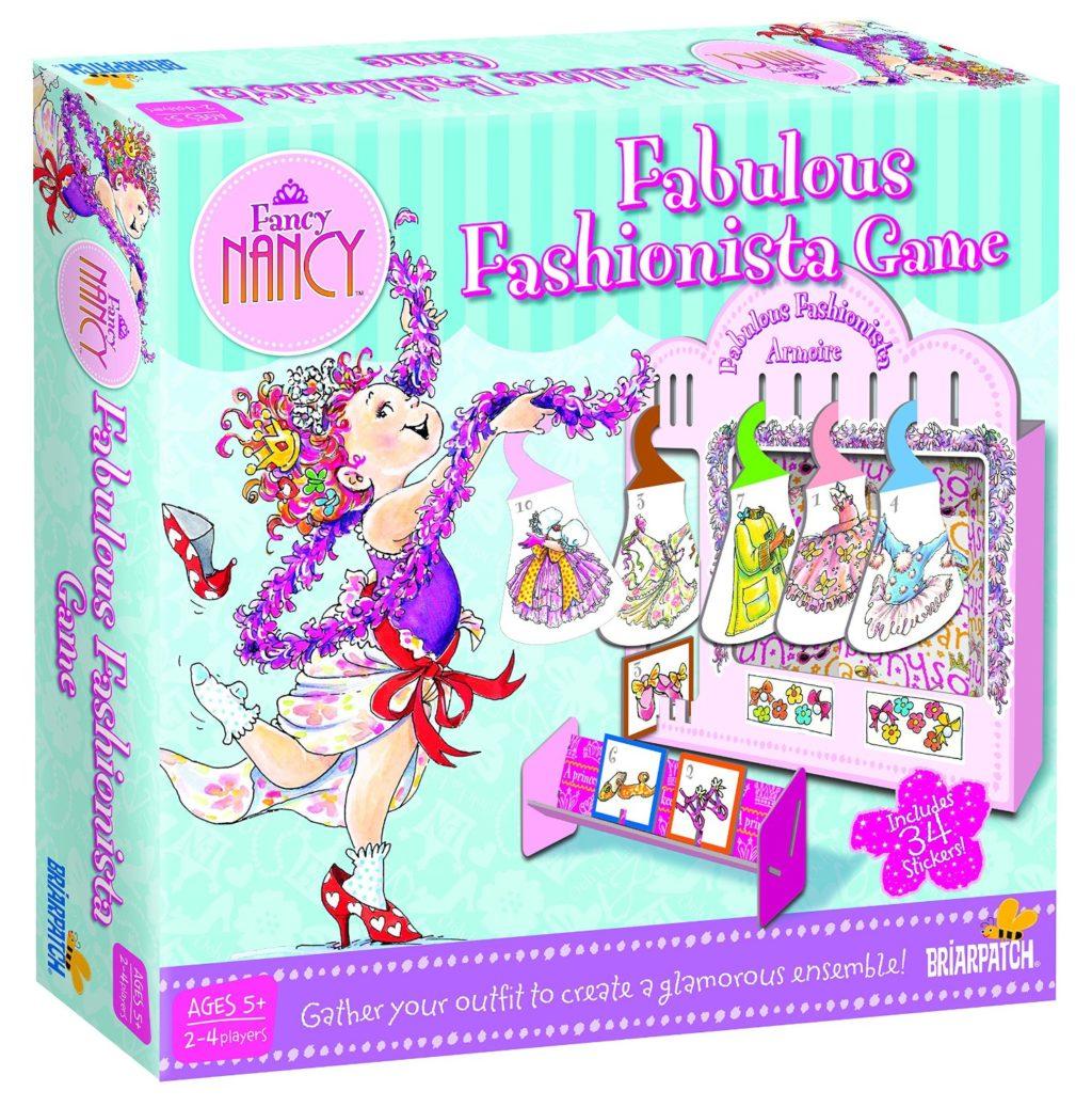 Fancy Nancy Fabulous Fashionista Game - games for girls
