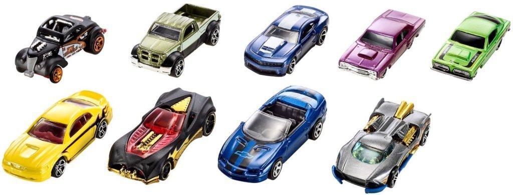 hot wheels 9 car gift pack cars for kids