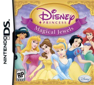 Disney Princess: Magical Jewels - Nintendo DS - princess games