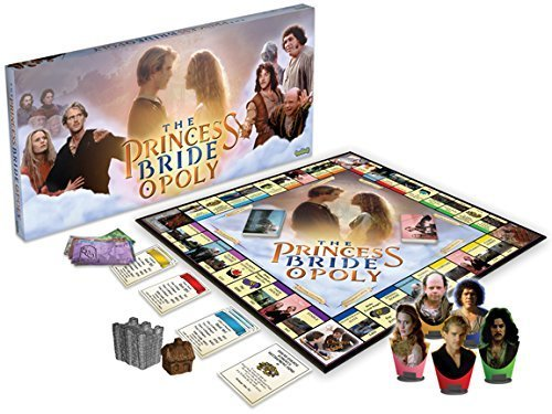 Princess Bride Opoly Board Game - princess games