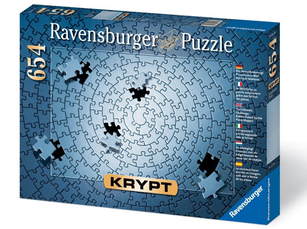 25 fun and challenging jigsaw puzzles for the entire family krypt silver 654 piece blank puzzle challenge jigsaw puzzles gumiabroncs Gallery