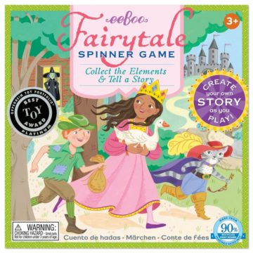 eeBoo Fairy Tale Spinner Game - princess games