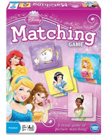 Disney Princess Matching Game - princess games