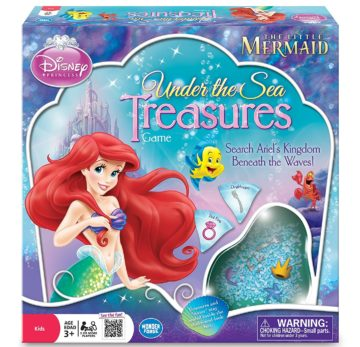 The Little Mermaid Under the Sea Treasures Game - princess games
