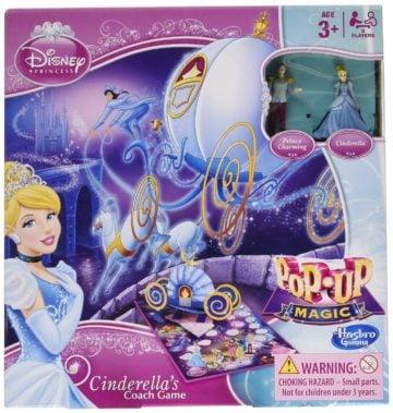 Disney Princess Pop-Up Magic Cinderella's Coach Game - princess games