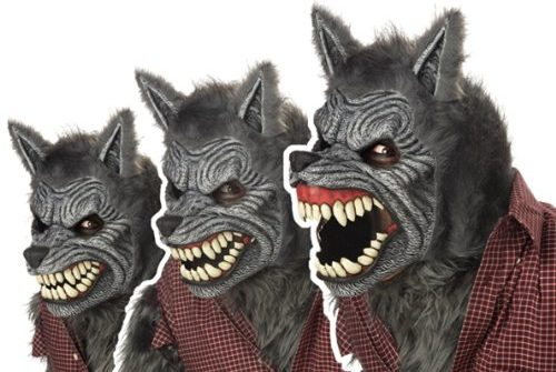 california-costumes-werewolf-mask