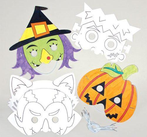 halloween-color-in-masks-for-children