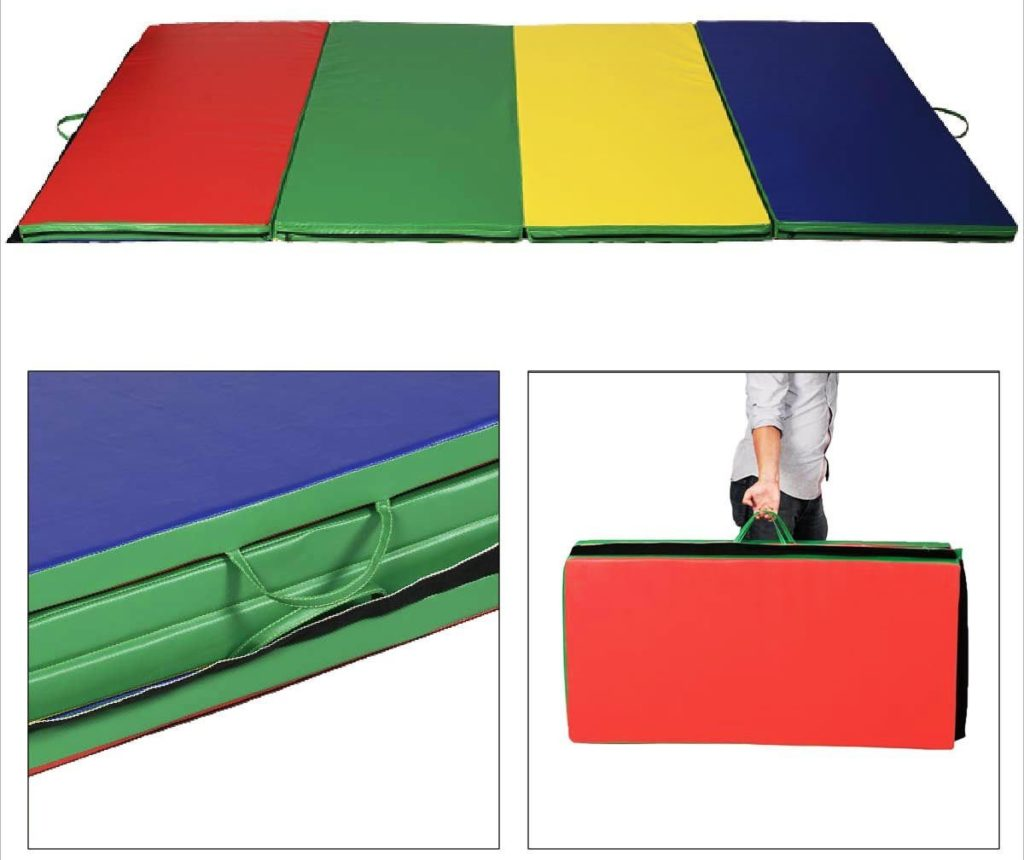 Gymnastics Mats For Home Walmart: 9 Fun Tumbling Mats For Kids To Practice Their Acrobatic