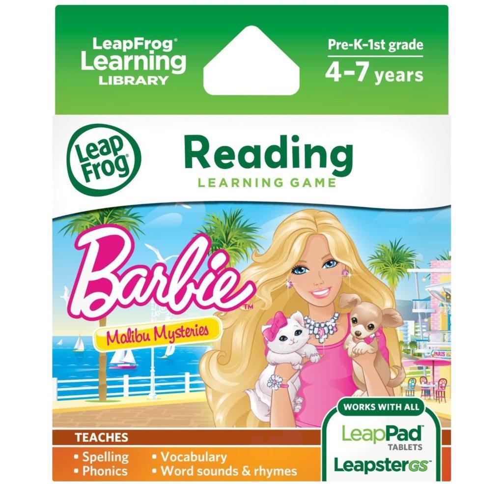 Barbie hair coloring games - Leapfrog Learning Game Barbie Malibu Mysteries