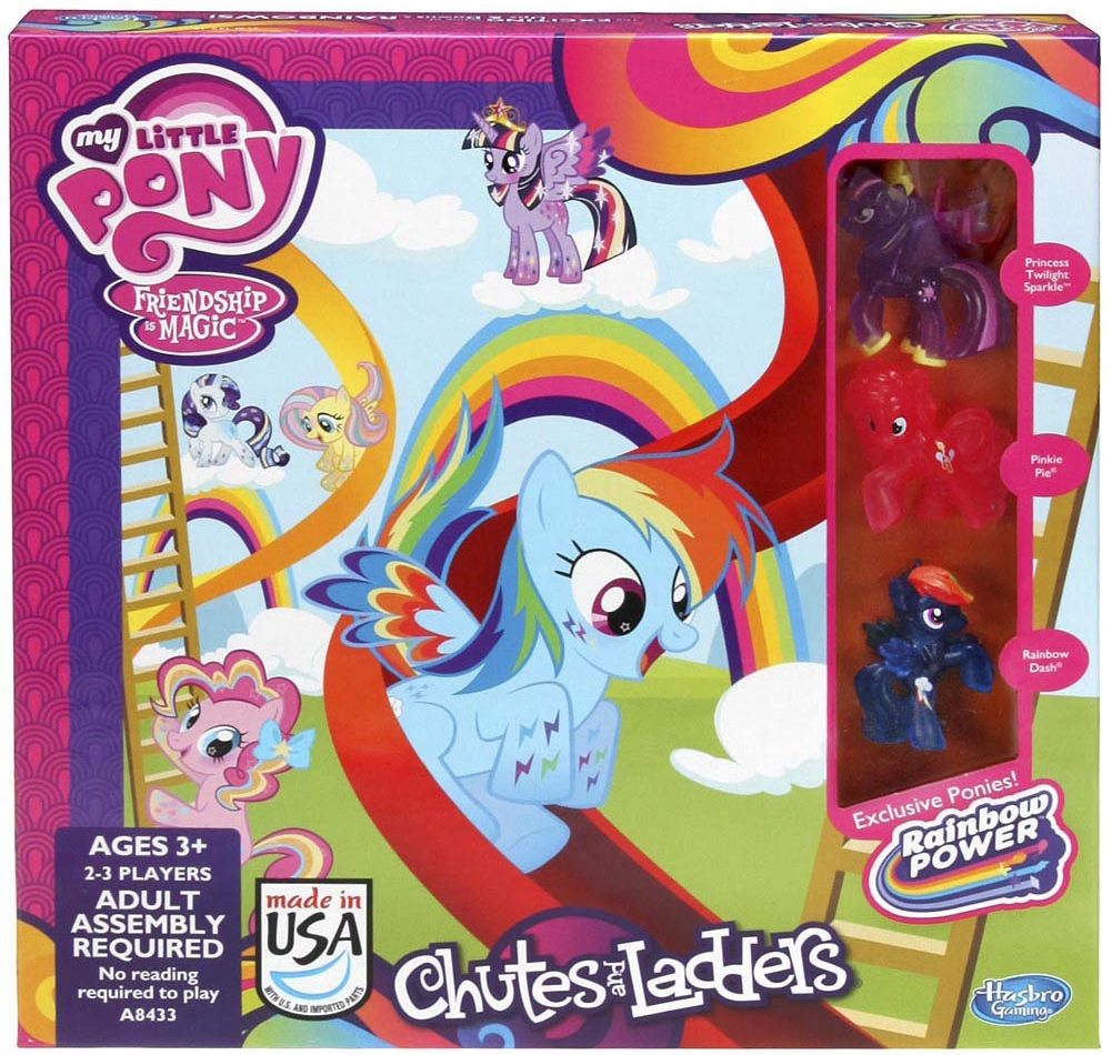 My Little Pony Chutes and Ladders