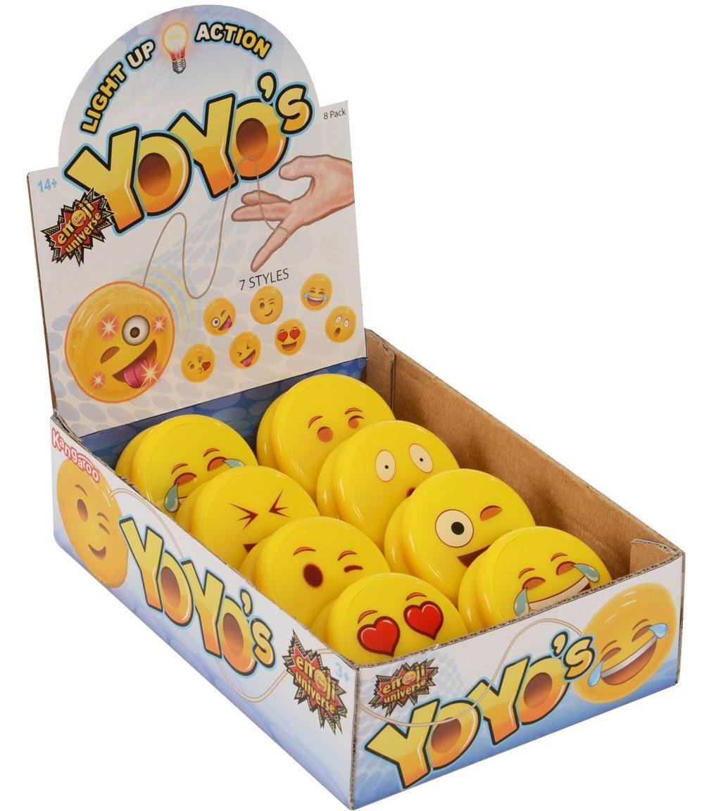 Emoji Universe: Emoji Faces Light Up Yo-Yos
