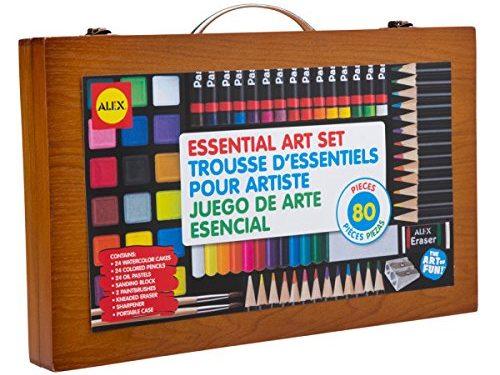 ALEX Toys Artist Studio Portable Essential Art Supplies Set - art sets