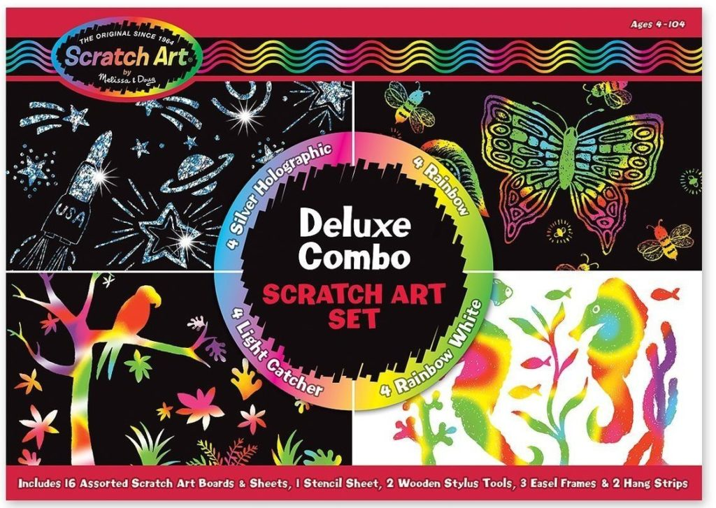 Melissa & Doug Deluxe Combo Scratch Art Set - art sets