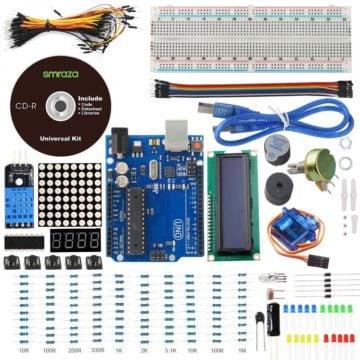 Smraza UNO Project Basic Starter Kit - Arduino starter kit
