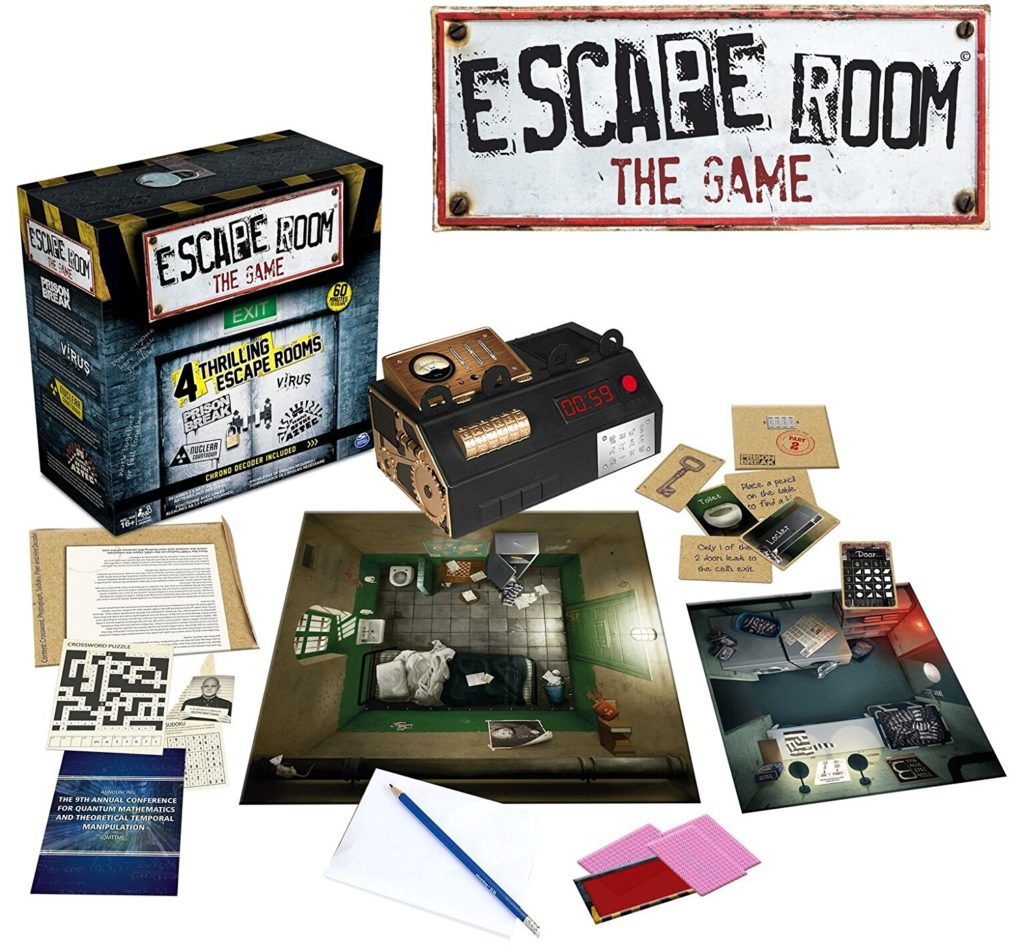 Spin Master Games - Escape Room The Game - room escape games