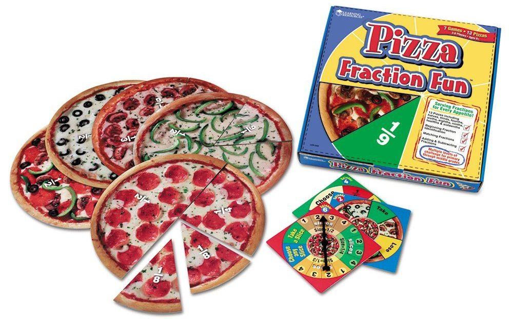 pizza fraction fun e1482314679868 - 9 Cool Math Games for Your Little Math Magicians