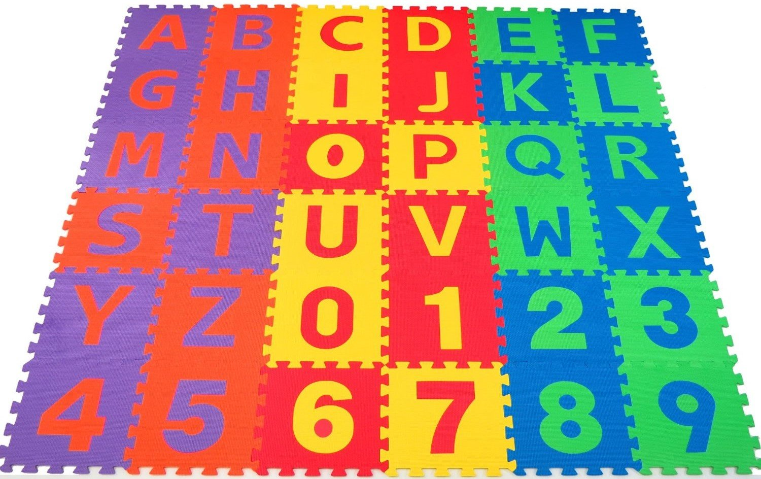 7 Puzzle Mats For Kids Play Areas
