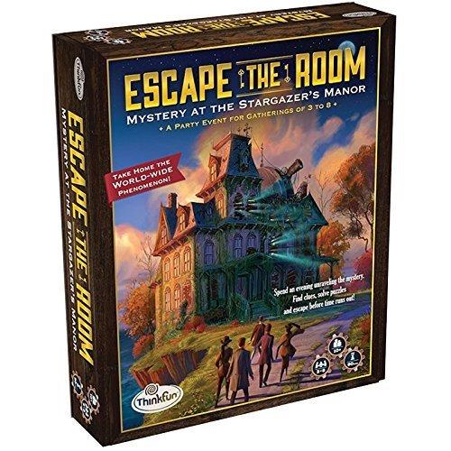 Escape the Room Stargazer's Manor Board Game - room escape games
