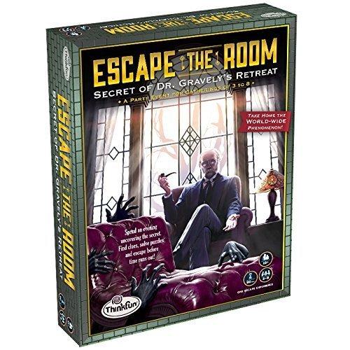 Escape The Room Secret Of Dr. Gravely's Retreat Game - room escape games