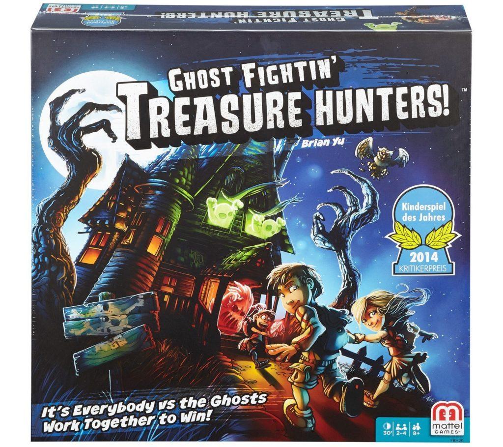 Ghost Fightin' Treasure Hunters Board Game - room escape games