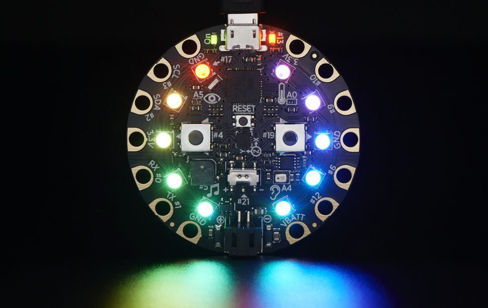 Circuit Playground meets Scratch—Physical Computing for Kindergartners
