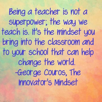 being a teacher is not a superpower quote george couros