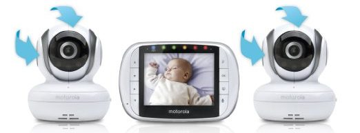 Motorola Video Baby Monitor with Two Cameras