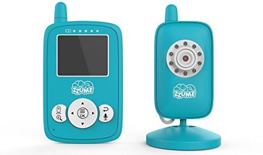 Zzume 2 Way Audio Night Vision Baby Monitor