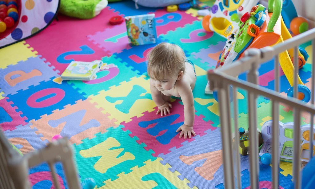 7 Puzzle Mats for Kids' Play Areas
