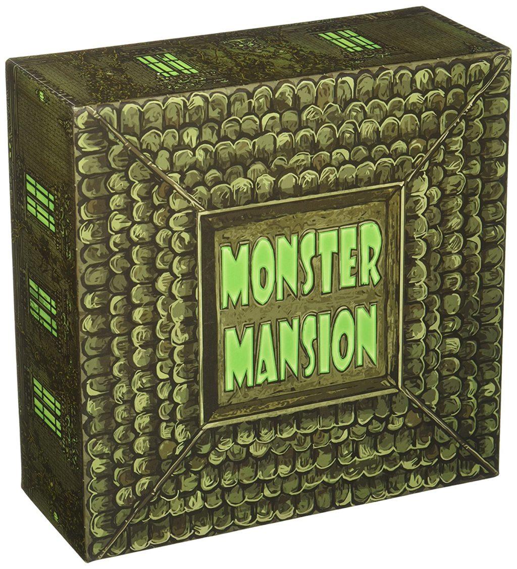 Monster Mansion Board Game - room escape games