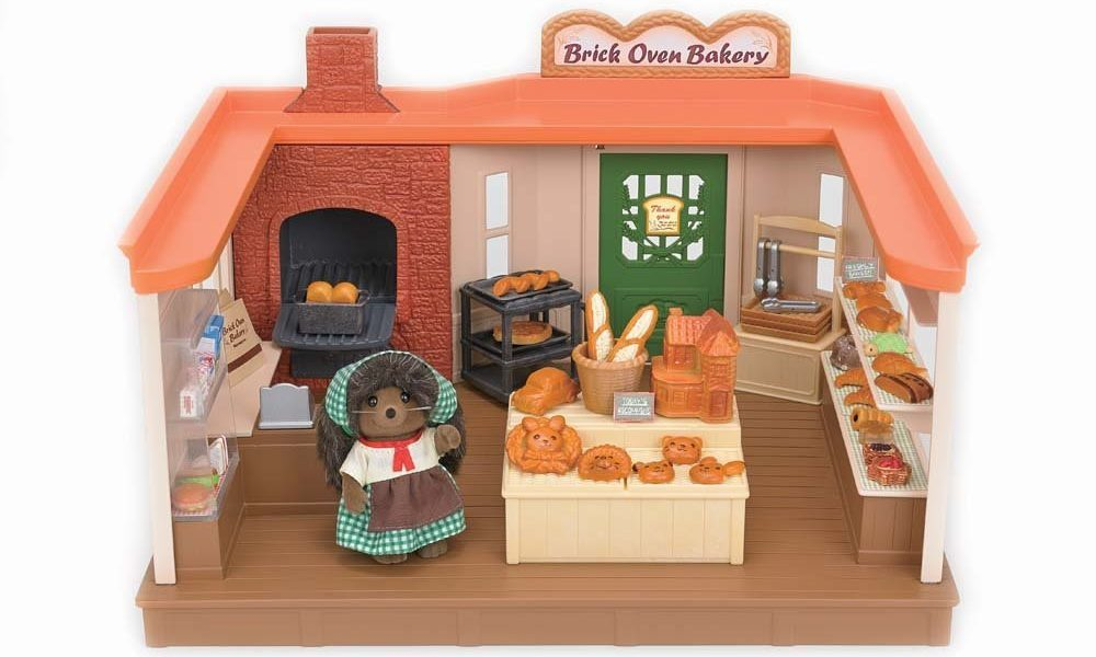 Calico Critters Brick Oven Bakery Set