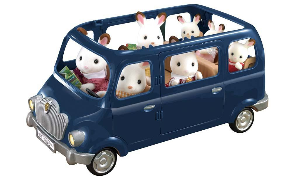 Calico Critters Family Seven Seater Vehicle e1486029418838