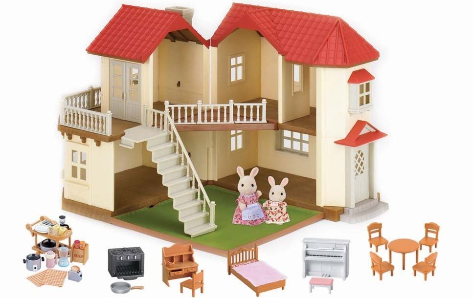 Calico Critters Luxury Townhouse Gift Set e1486029140783