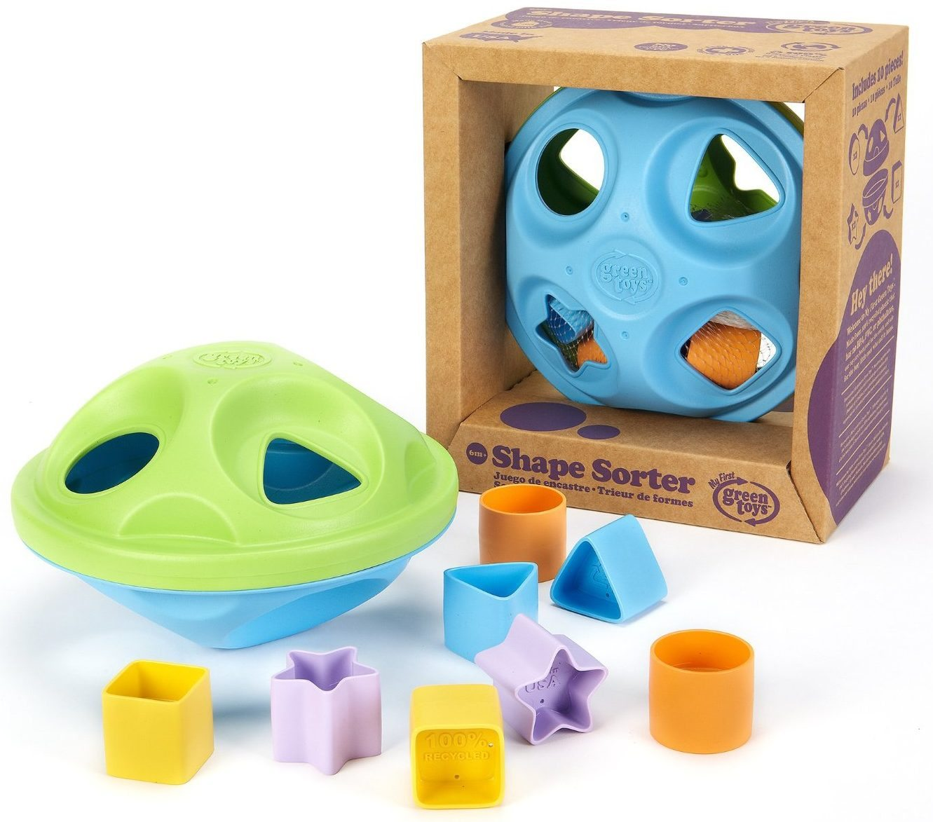 green toys shape sorter e1487591580539 - 6 Superb Shape Sorters to Engage Your Little One