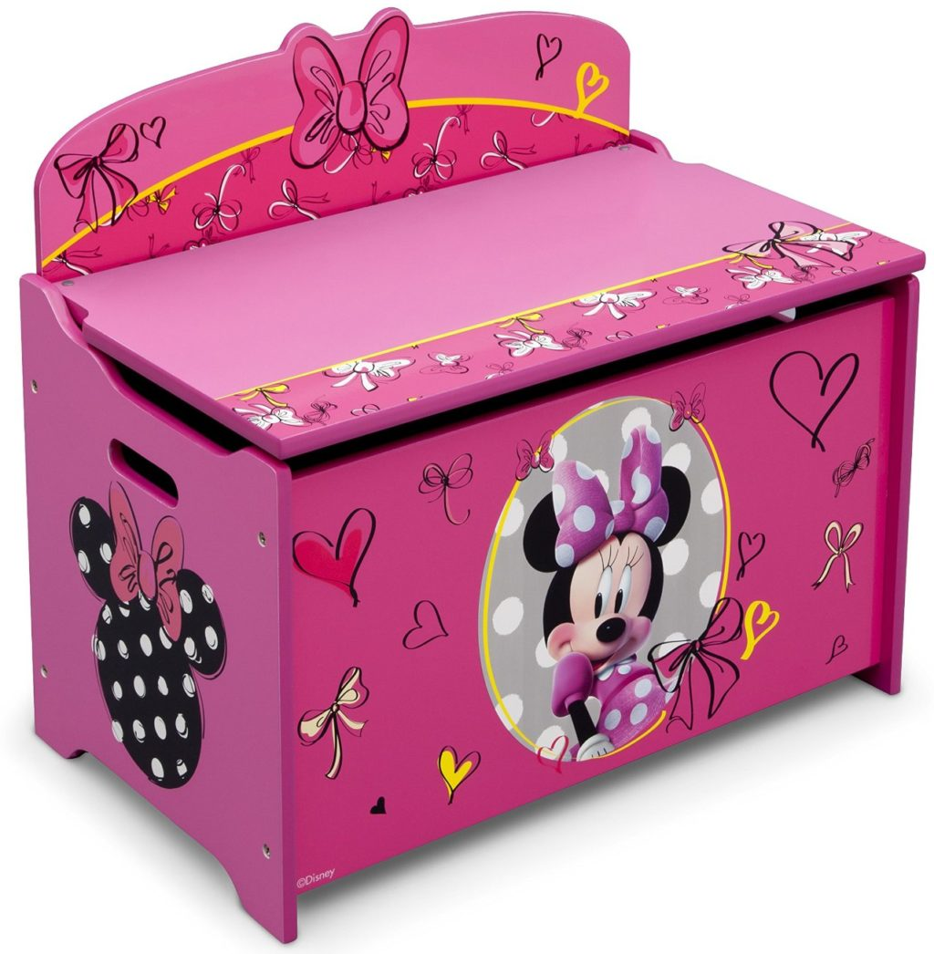 minnie mouse toy chest e1487081281235 1024x1046 - 7 Toy Chest Storage Solutions To Manage The Mess
