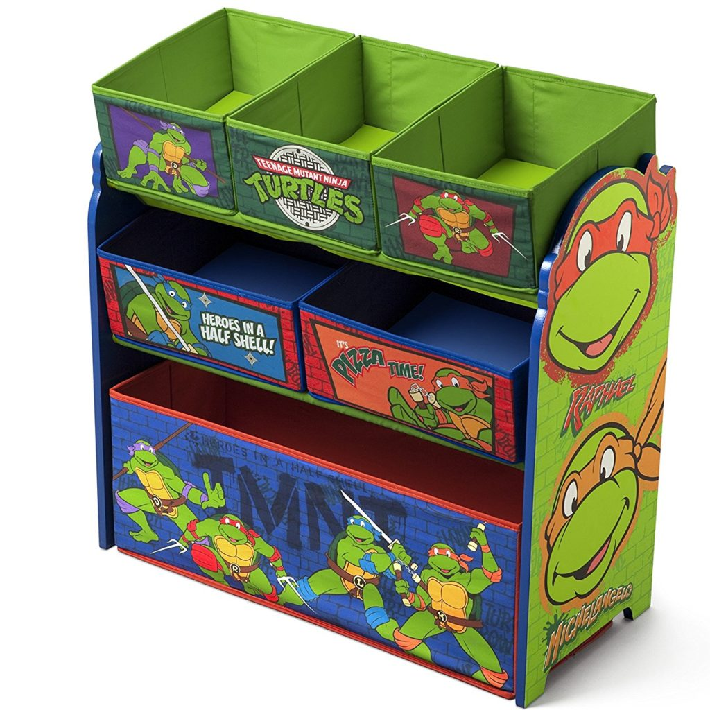 ninja turtles toy chest e1487081676753 1024x1024 - 7 Toy Chest Storage Solutions To Manage The Mess