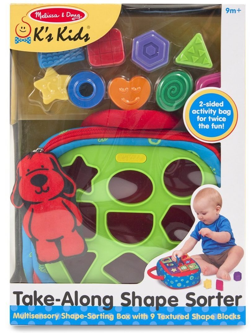 take along shape sorter e1487591664174 - 6 Superb Shape Sorters to Engage Your Little One
