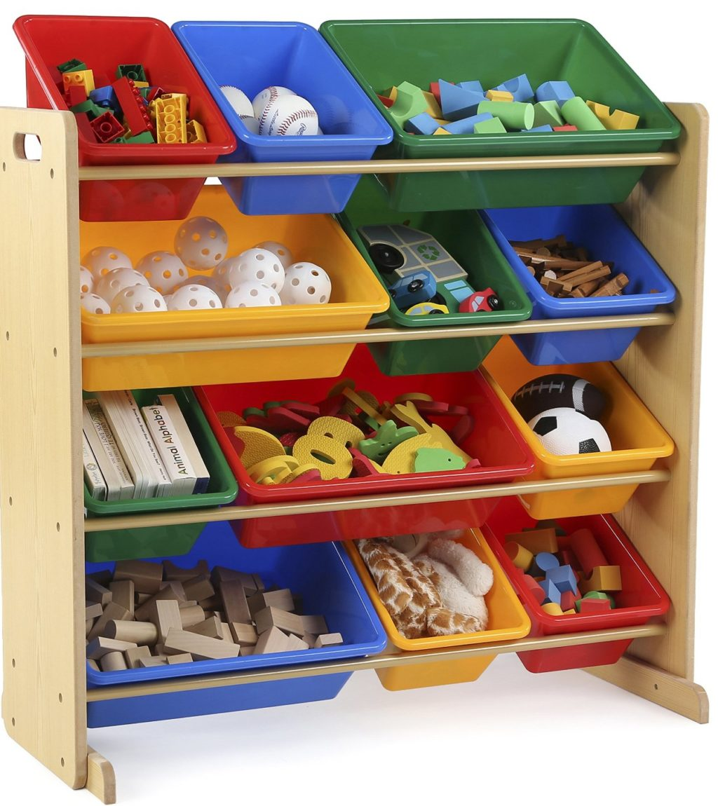 tot tutors storage organizer e1487081112806 1024x1150 - 7 Toy Chest Storage Solutions To Manage The Mess