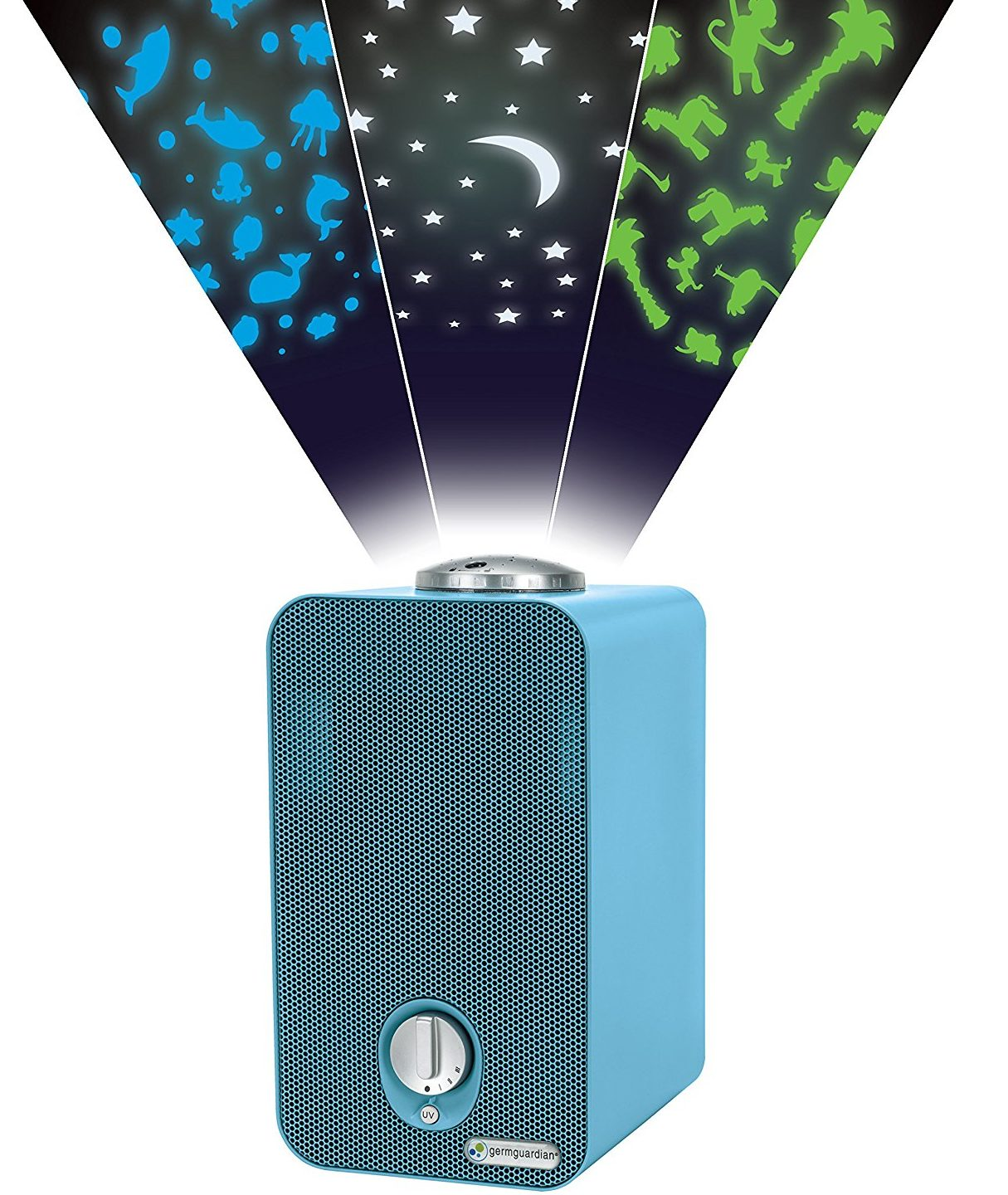 GermGuardian 4-in-1 Cleaning System and Projector