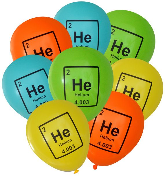 Mad Science Helium Balloons