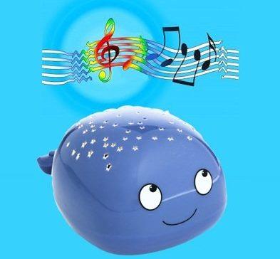 Beetlestar Music Whale Nightlight Star Projector