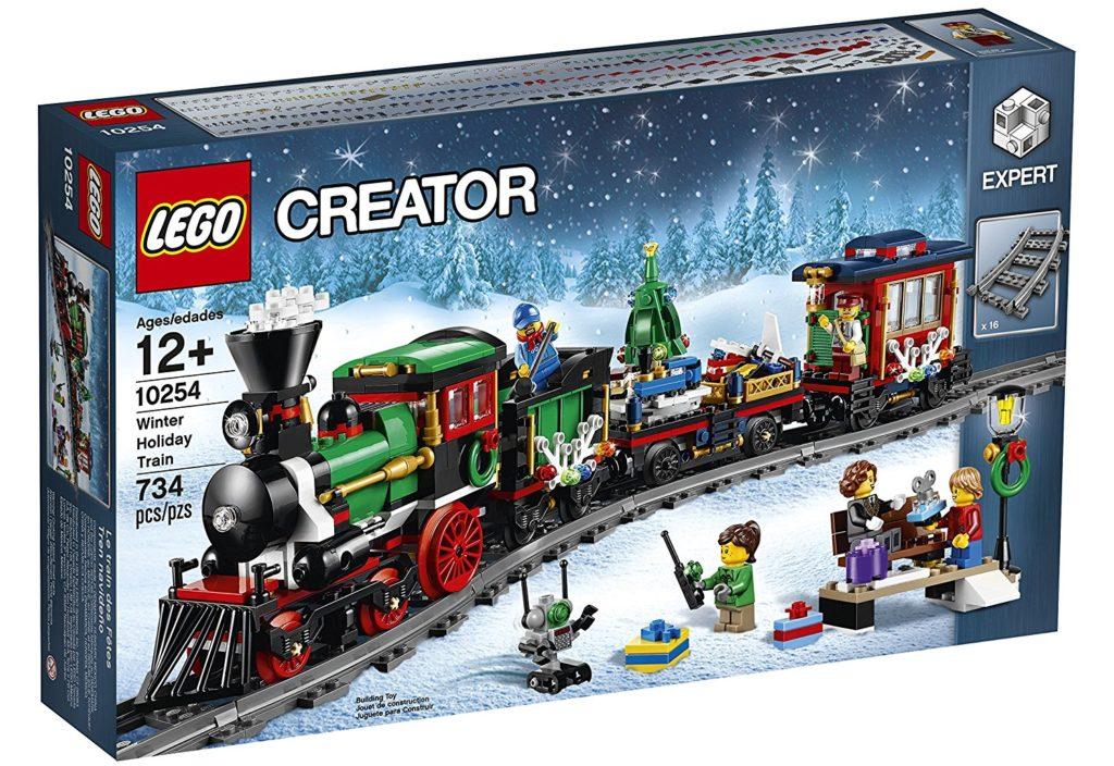 lego creator winter train