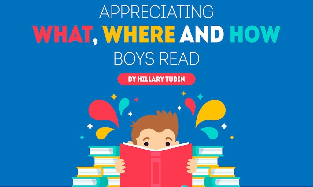 Appreciating What, Where and How Boys Read [Infographic]