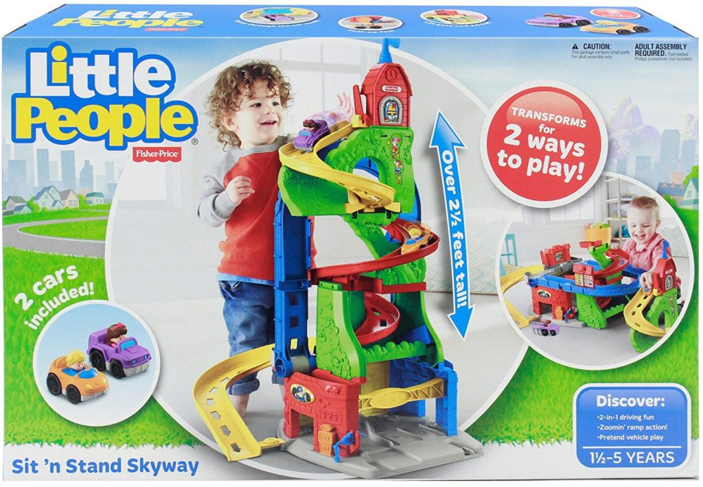 Fisher Price Little People Sit 'n' Stand Skyway