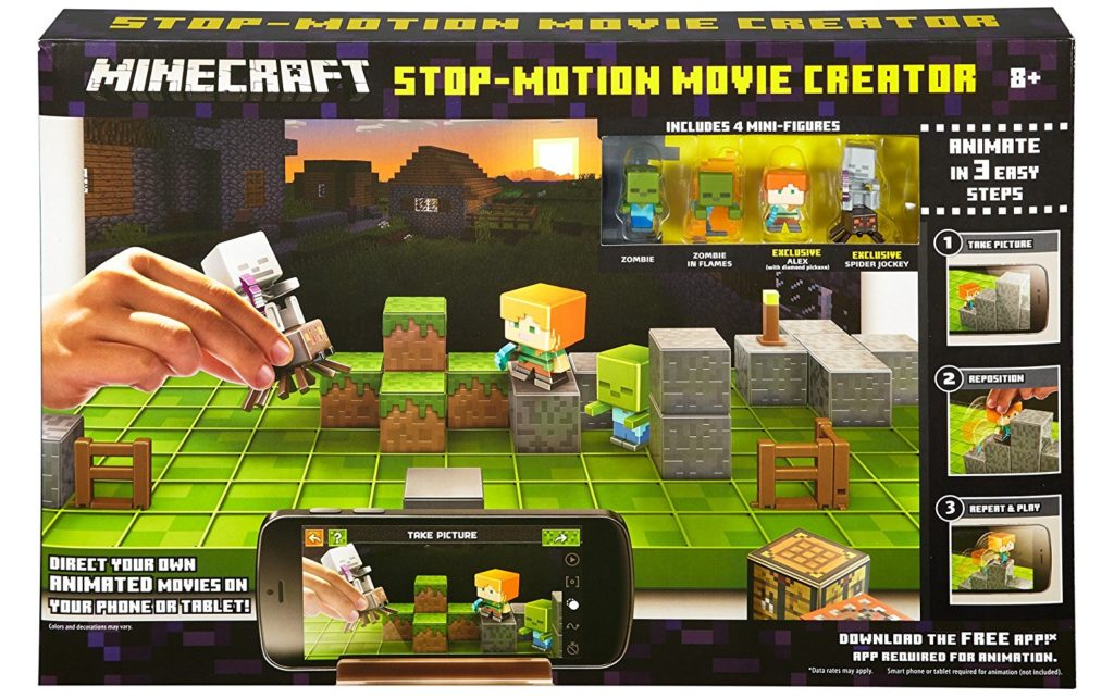 stop motion minecraft