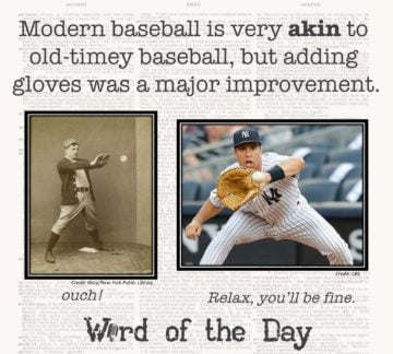 Word of the Day — Akin