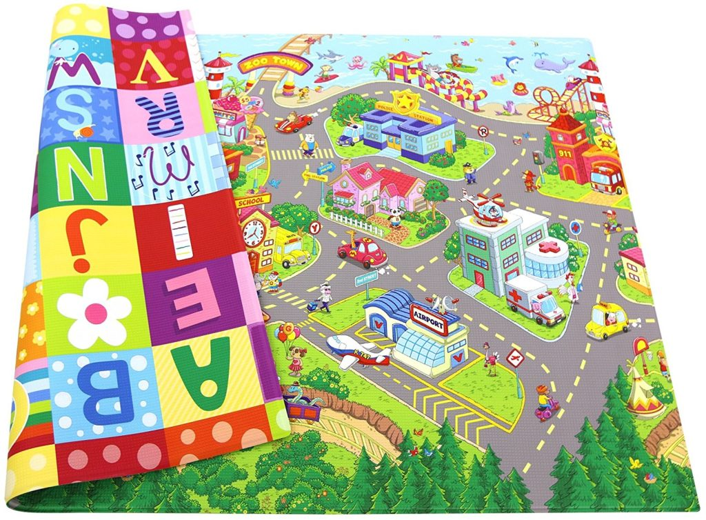 Baby Care Zoo Town Baby Play Mat