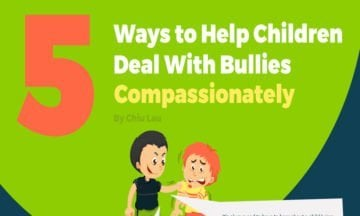 5 Ways to Help Children Deal With Bullies Compassionately [Infographic]