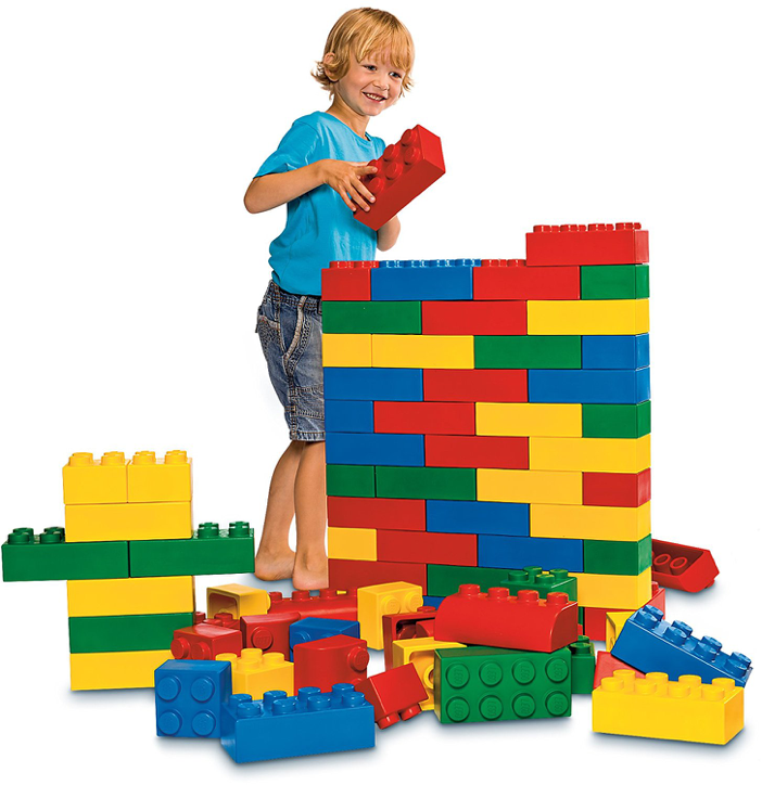 Lego Soft Bricks Foam Blocks